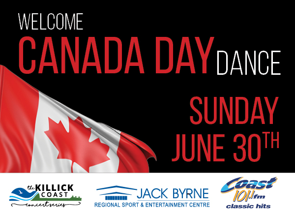 Welcome Canada Day Dance @ Jack Byrne Regional Sport & Entertainment Centre