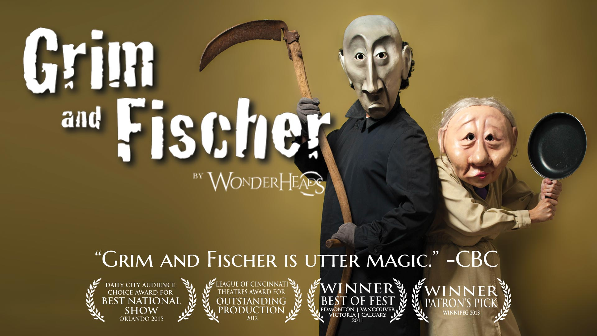 GRIM & FISCHER by The Wonderheads @ Jack Byrne Regional Sport & Entertainment Centre
